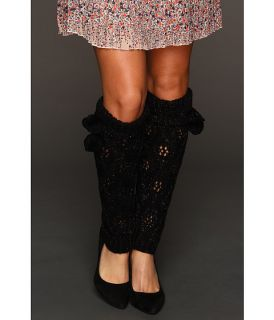 betsey johnson cozy cable lurex leg warmer $ 28 00