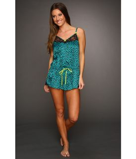 sale betsey johnson sultry stretch satin romper $ 69 00