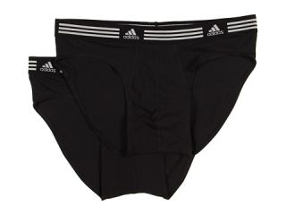 adidas Athletic Stretch ClimaLite® 2 Pack Sport Brief   Zappos