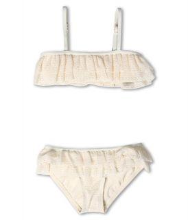 Juicy Couture Kids Dollface Lace Ruffle Bandeau w/ Ruffle Bottom