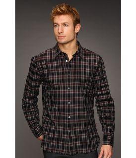 John Varvatos Point Collar Single Pocket Shirt $98.00