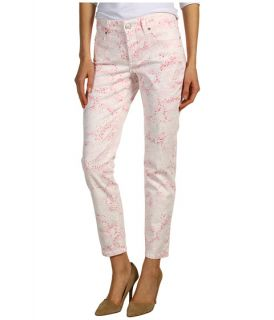 Not Your Daughters Jeans   Alisha Fitted Ankle in Pink Multi