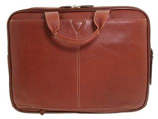 Johnston & Murphy Double Zip Briefcase    BOTH