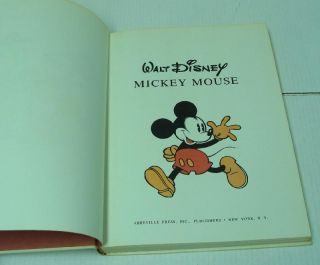 Mickey Mouse Best Comics Book by Abbeville Press 1st Printing