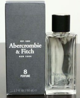 Abercrombie Fitch 8 Womens 1 7 oz Perfume EDP New Factory SEALED Box