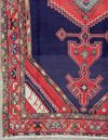 ANTIQUE PERSIAN SERAPI HAND KNOTTED WOOL AREA RUG CARPET WITH ABRASH