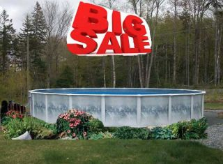 Yorkshire Round Above Ground Swimming Pool Package Made in The USA