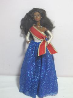 Vintage 1966 Black African American Barbie Doll Mattel China