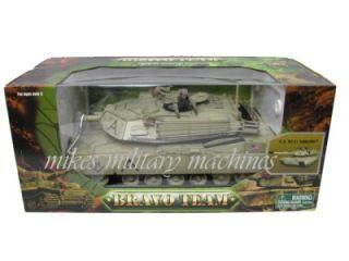 ULTIMATE BBI 1/18th M1 M1A1 ABRAMS DESERT ARMY USMC TANK SOLDIER MIB