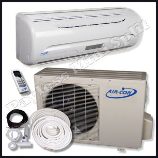 Mini Split Air Conditioner Heat Pump Air Con 12 000 BTU AC Unit