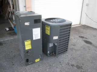 Central Air 2 Ton Goodman Condenser and Air Handler Central AC Unit