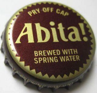 ABITA BEER brown CROWN, Bottle Cap, Abita Springs, LOUISIANA USA