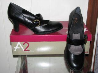A2 Aerosoles Womens Black Maryjane Beauty Sleep Heels Sizes Maryjane