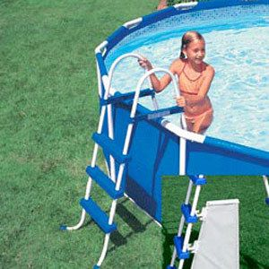 Intex Up to 36 High Above Ground A Frame Swimming Pool Ladder w