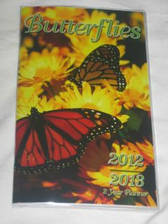 2012 2013, 2 Year,Monthly Planner/Calendar/Organizer,school, pocket