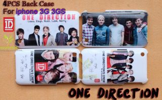 Direction 1D Hard Back Case Cover for iphone 3G 3GS  SRBC