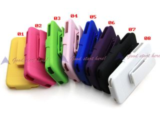 Holster Hard Case Cover Protector with Holder for I Phone 4 4G