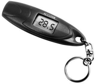 Accutire MS 4652B Key Chain Digital Tire Gauge Black