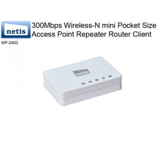 802.11N mini Pocket Size Access Point Repeater Router Client