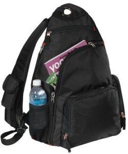 Book Bags Backpack Shoulder Sling Pack School Travel Black Red Blue