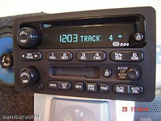 2005 2006 GM Chevy Radio CD Player Avalanche Silverado Suburaban Tahoe