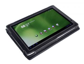 Acer Iconia Tab A500 Tablet Black Leather Cover Case
