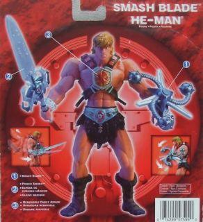 Smash Blade He Man Action Figure w Grayskull Chip