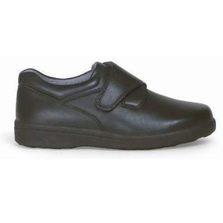 Womens Advance Comfort Walking Diabetic Shoes Black Bone