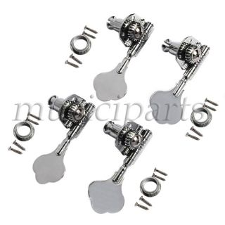 Replacement Chrome Tuning Keys Pegs Set 4R high quality guitar parts