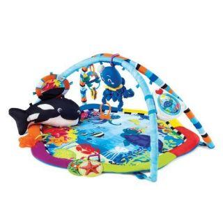 Baby Einstein Ocean Play Mat Baby Activity Center Gym