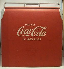 Coca Cola Cooler Acton Manufacturing Co ca1950 s
