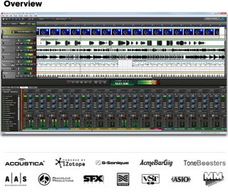New Acoustica Mixcraft Pro Studio 6 Multi Track Recording Suite Serial