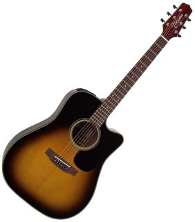 EF340SC Dreadnought Acoustic Electric Guitar WITH CASE NEW BLOWOUT