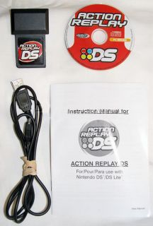 Datel Action Replay for Nintendo DS & DS Lite Codes USA