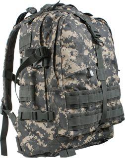 ACU Digital Camouflage Military MOLLE Transport Assault Pack Backpack