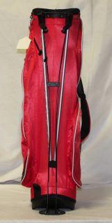 New Adams Hornet Golf Stand Bag Red Black White