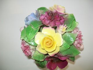 Birks Royal Adderley Floral Bone China Made in England Nice Pink Vase