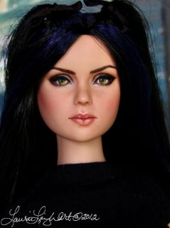 Wednesday Addams Christina Ricci Repaint by Laurie Leigh