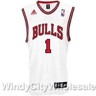 Bulls Chicago MVP Derrick Rose Jersey Adidas NBA New XL