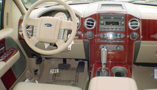 Nissan Maxima 00 01 Wood Chrome Dash Trim Kit Parts