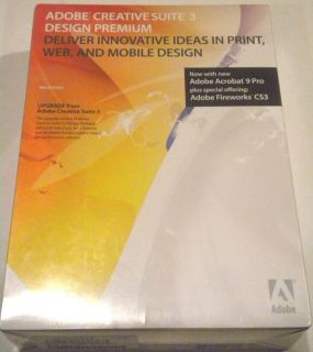 Adobe Creative Suite 3 3 Design Premium Photoshop Flash Dreamweaver