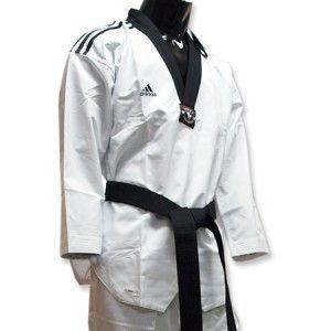 Adidas Taekwondo TKD Fighter 3STRIPE Super Master Uniform Uniforms Dan