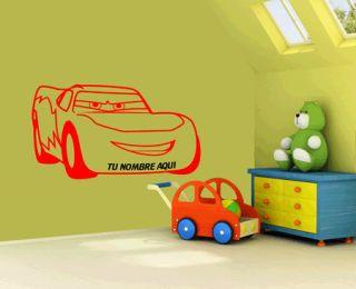 Vinilo Decoracion Paredes Infantil Cars Rayo McQueen