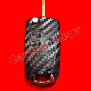 CARBON4KEYS Opel Corsa D Astra H Zafira B Remote Decor