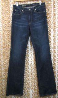 Adriano Goldschmied AG Mid Rise Angel Boot Cut Dark Denim Jeans New 29