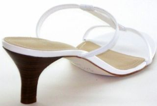Alex Marie Tea Time Sandals Womens Shoes White 8 5