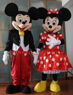 Mickey and Minnie Mouse Adulto Mascotte Costume