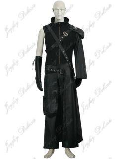Final Fantasy VII 7 Advent Children Cloud Strife Cosplay Costume