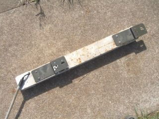 Mercedes 404 Unimog Radio Box Large Light.Some cracks/damage on lens