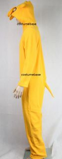 Jake Costume Finn Adult Adventure Time Cosplay Halloween Fleece